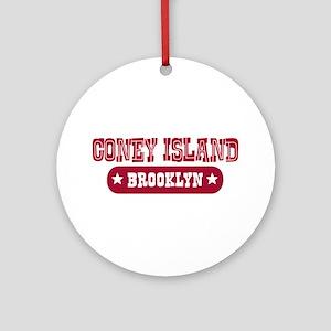Coney Island Ornament (Round)