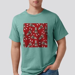 Red Sock Monkey Print Mens Comfort Colors® Shirt