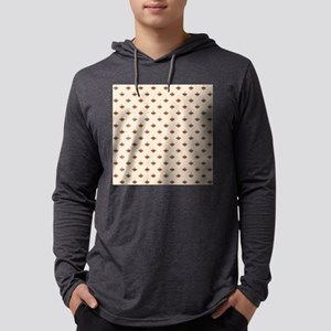 Medium Sock Monkey Face Print Mens Hooded Shirt