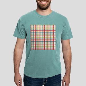 Mountain Plaid Print Mens Comfort Colors® Shirt