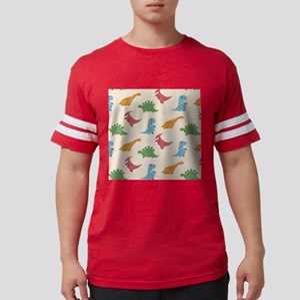 Dinosaur Print Mens Football Shirt
