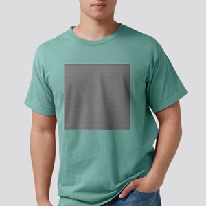 Black White Stripes Mens Comfort Colors® Shirt