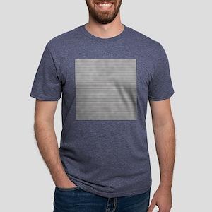 Black White Stripes Mens Tri-blend T-Shirt