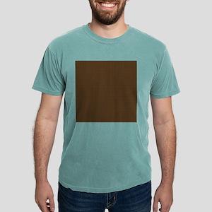 Brown Polka Dot Print Mens Comfort Colors® Shirt
