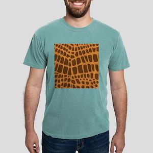 Giraffe Animal Print Mens Comfort Colors® Shirt