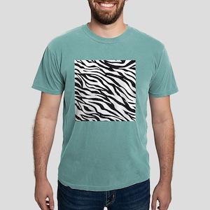 Zebra Animal Print Mens Comfort Colors® Shirt