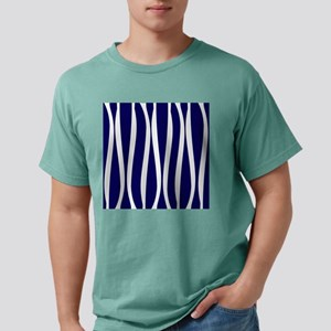 Navy White Waves Mens Comfort Colors® Shirt