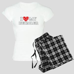 I Love my Retailer Pajamas