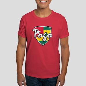 Togolese distressed flag Dark T-Shirt