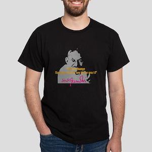 Gandhi Dark T-Shirt