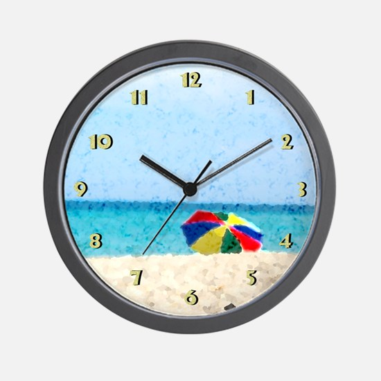 The Beach... Wall Clock