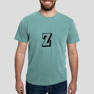 Action Monogram Z Mens Comfort Colors® Shirt