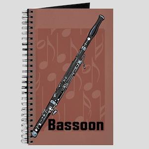 Bassoon Music Notebook