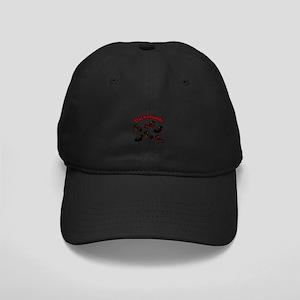 Playful Dachshunds Black Cap
