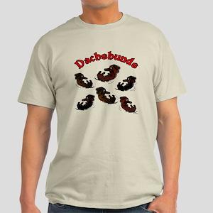 Playful Dachshunds Light T-Shirt