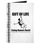 Gift Of Life Living Donors Rock Journal