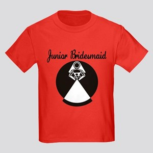 Junior Bridesmaid Kids Dark T-Shirt