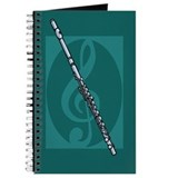 Flute Journals & Spiral Notebooks
