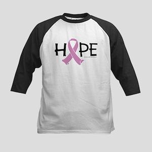 Testicular Cancer Ribbon Hope Kids Baseball Jersey