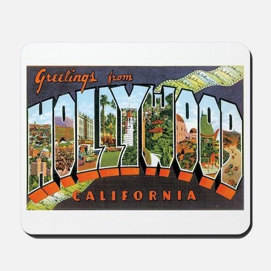 Hollywood California Mousepad