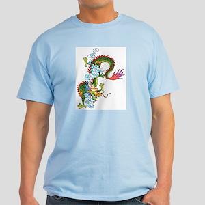 Dragon Tattoo Art Light T-Shirt