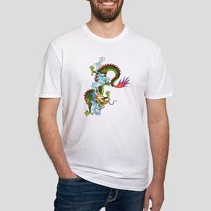 Dragon Tattoo Art Fitted T-Shirt