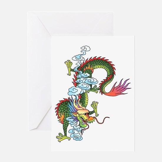 Dragon Tattoo Art Greeting Card