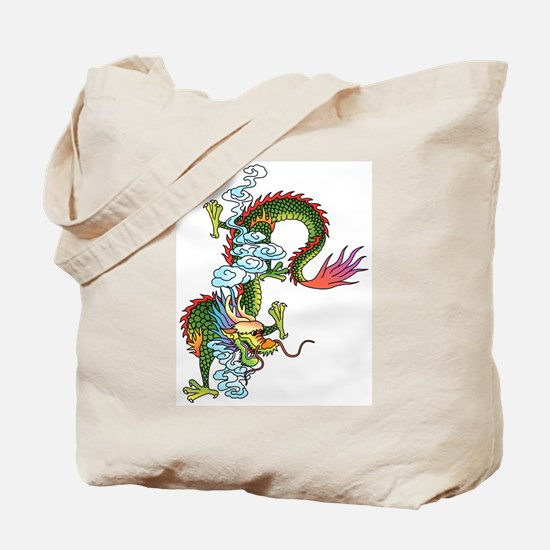 Dragon Tattoo Art Tote Bag