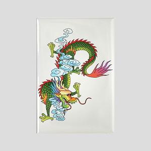 Dragon Tattoo Art Rectangle Magnet