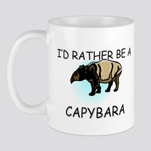 I'd Rather Be A Capybara Mug