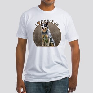 Fitted Australian Blue Heeler Shirt