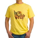 Eagle & Old Glory Yellow T-Shirt