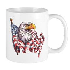 Eagle & Old Glory Mug