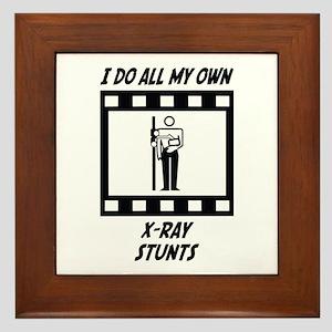 X-Ray Stunts Framed Tile