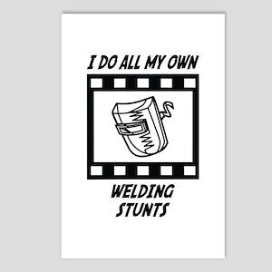 Welding Stunts Postcards (Package of 8)