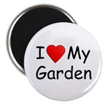 "I (Heart) My Garden 2.25"" Magnet (10 pack)"