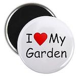 I (Heart) My Garden Magnet