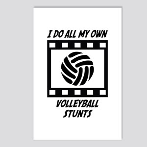 Volleyball Stunts Postcards (Package of 8)