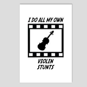 Violin Stunts Postcards (Package of 8)