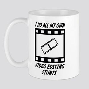 Video Editing Stunts Mug