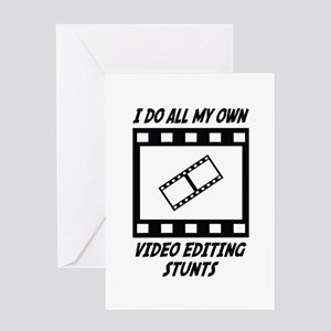 Film editor greeting cards cafepress video editing stunts greeting card m4hsunfo