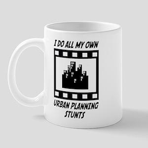 Urban Planning Stunts Mug