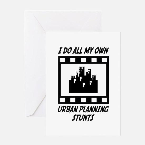 Urban Planning Stunts Greeting Card
