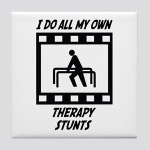 Therapy Stunts Tile Coaster