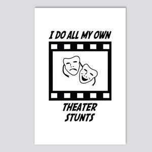 Theater Stunts Postcards (Package of 8)