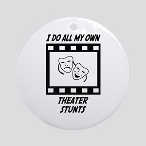 Theater Stunts Ornament (Round)
