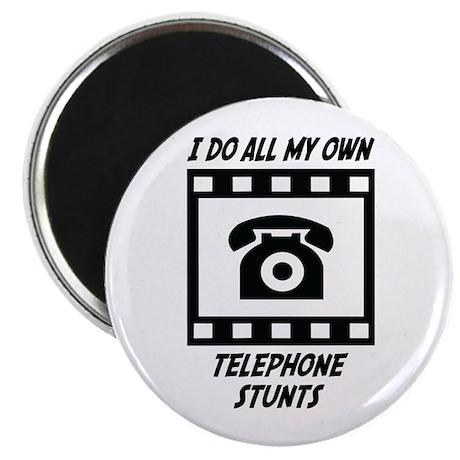 Telephone Stunts Magnet