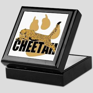 Cheetah Power Keepsake Box