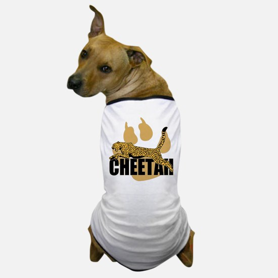 Cheetah Power Dog T-Shirt