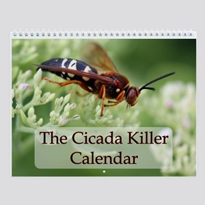 Cicada Killer Wall Calendar